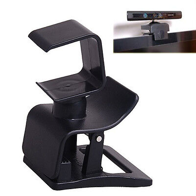 Portable Clip Mount Hold Stand Holder Clamp Kit for PS4 Move Eye Camera BL NEW
