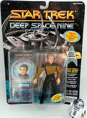 Star Trek Deep Space Nine : Chief Miles O'brien Carded Action Figure