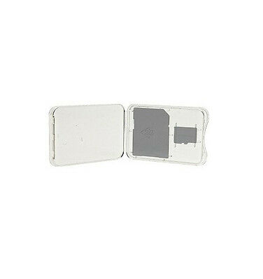 15 QTY MicroSD+SD SDHC SDXC Hard Plastic Memory Card Holder Jewel Case **NEW**