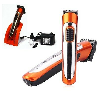 DINGLING RF-607 Professional chargeable Electric Mini Hair Clipper Beard Trimmer