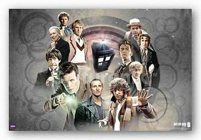SCIENCE FICTION POSTER Doctor Who Doctor's Collage