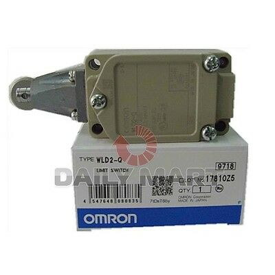 OMRON NEW WLD2-Q Limit Switches L.S. Std. RllrPlng PLC