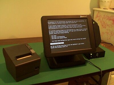 NEW-IN-BOX  Touch POS  H723 CRS IT-8830 w/ ENP5825 P. Supply Touchpos 3000 M-pad