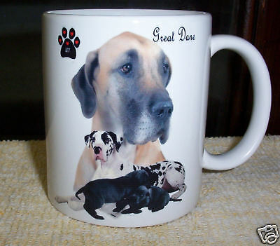 Great Dane  ( Mixed Colours ) Collectable Coffee  Mug