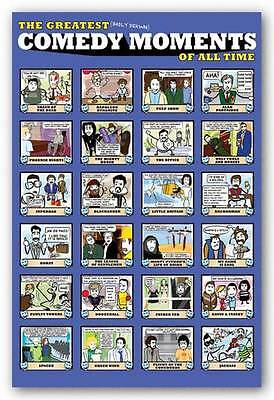 POSTER The Greatest Comedy Moments of All Time