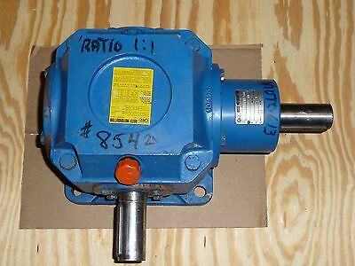 GR Rossi Motoriduttori Right Angle Gearbox, 1:1 Ratio, Base Mount, RC160P01N101