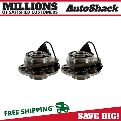 Set of 2 New Wheel Hub and Bearing Assembly Front Pair For 2003-2009 Saab 9-3