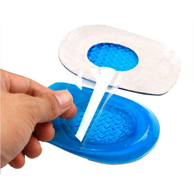 Fast Foot Pain Relief Plantar Fasciitis Gel Heel Support Cushion Insoles Pad Cup