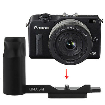 Neewer Camera Hand Grip f Canon EOS M Quick Release L-Plate Arca Swiss Fit EM#01