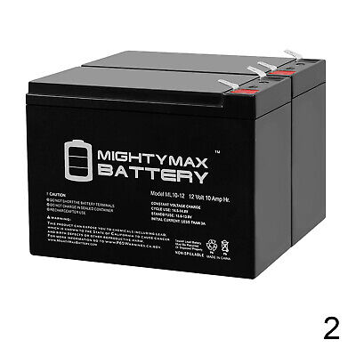 Mighty Max 12V 7.2AH Battery for HID Rechargeable Lantern 12V 1Amp Charger