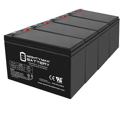 RBC5-4 Pack Brand Product Mighty Max Battery 12V 22AH Gel Compatible Battery for APC SmartUPS RBC11