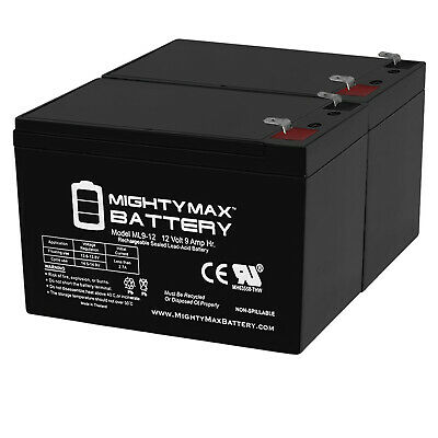 Mighty Max 12V 2 AMP CHARGER  MAINTAINER for 12V 9AH Altronix AL600UL3 Battery