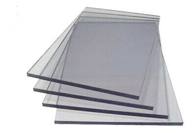 A4 Clear Acrylic Sheet Perspex Plexiglass Plastic Cut Panel 210 x 297mm Material