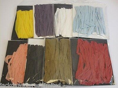1 x 10m Paper Raffia 9 Colours to choose from Ribbon Decoration, Arts & Crafts