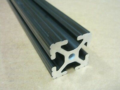 80/20 Inc 1.5 x 1.5 T-Slot Aluminum Extrusion 15 Series 1515 x 36 Black H1-2
