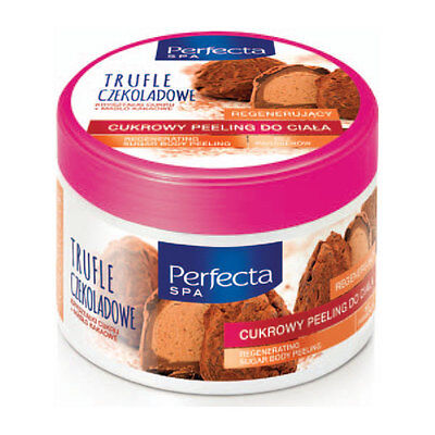 Perfecta SPA - Smoothing And Regenerating Sugar Body Peeling CHOCOLATE TRUFFLES