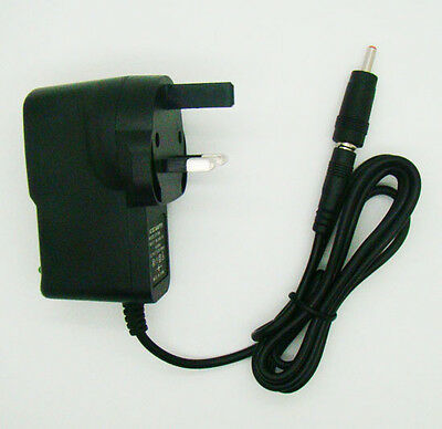 UK DC 6V 1A 1000mA Switching Power Supply cord Adaptor 3.5mm x 1.35mm