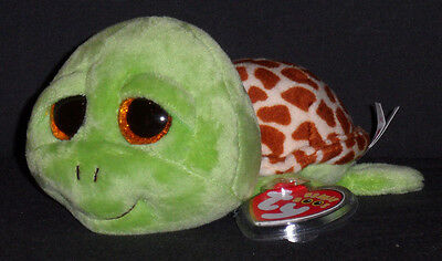 TY BEANIE BOOS BOO'S - ZIPPY the TURTLE - MINT with NEAR PERFECT TAG