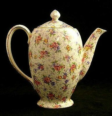 Royal Winton ELEANOR Albans Coffee Pot with Lid VINTAGE