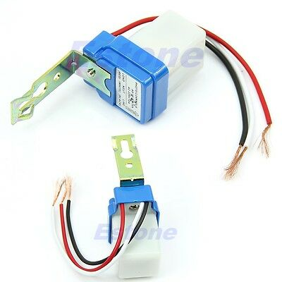 AC DC 220V 10A Auto On Off Photocell Street Light Sensor Switch Photoswitch