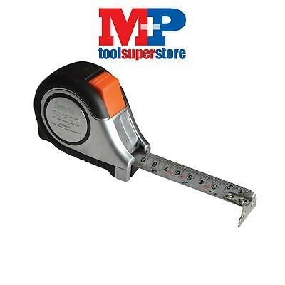 Bahco MTS525E MTS Reversible Magnetic Tip Auto Pocket Tape 5m/16ft (Width 25mm)
