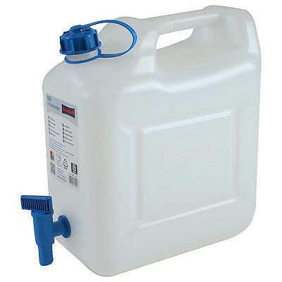 Wasserkanister ECO 10 Liter mit Hahn Camping-Kanister Wassertank Made in Germany