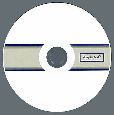 GEORGE WASHINGTON Family History Genealogy Ancestry: Collection of 9 Books on CD