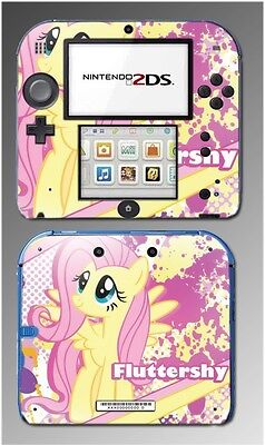My Little Pony Friendship is Magic Fluttershy Cartoon Skin Cover Nintendo 2DS