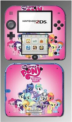 My Little Pony Friendship is Magic MLP FIM Video Game Skin Cover Nintendo 2DS