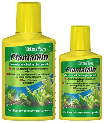 Tetra Plantamin 100ml / 250ml Aquatic Plant Food Fertiliser Aquarium Fish Tank