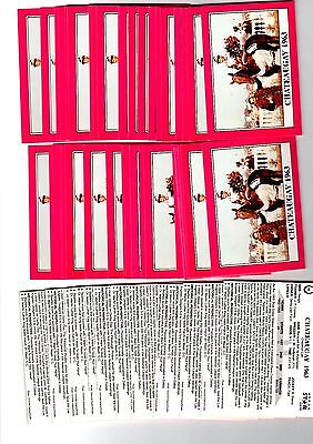 1X CHATEAUGAY 1990 Star KENTUCKY DERBY #89 Horse Racing Bulk Lot Available