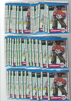 1X PATRICK ROY 1989-90 OPC #17 NMMT Canadiens Avalanche O Pee Chee Lots Availabl