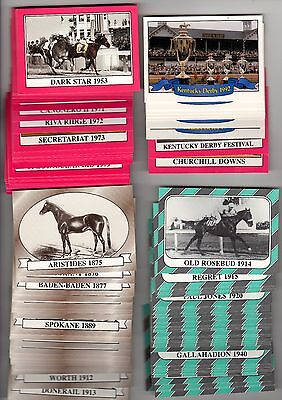 1X 1991 Star KENTUCKY DERBY COMPLETE SET + Extras  NMMT Bulk Lot Available