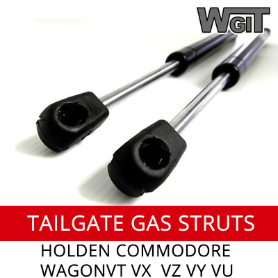 GAS STRUTS TAILGATE Suit COMMODORE WAGON VT VX VY VZ OEM QUALITY (PAIR)