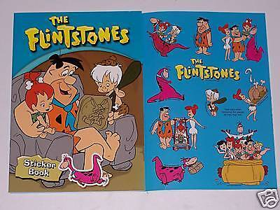 THE FLINTSTONES STICKER BOOK
