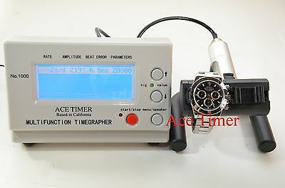 Watch & Pocket Watch Timing Machine Multi-function Timegrapher 1000 by ACE TIMER