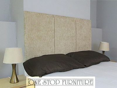 Dent Headboard Chenille All Sizes & 13 Colours & 3 Heights!! Cheapest on eBay!!