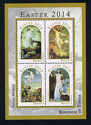 Tonga - 2014 Easter Postage Stamp Issue