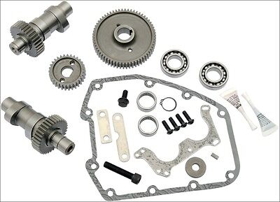S&S Cycle 510G Grind Gear Drive Bolt In Cam Kit .510 Lift Harley Twin Cam 99-06