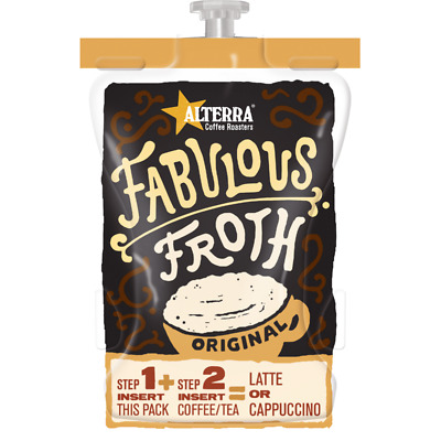 Flavia Fabulous Froth Original 80 Drinks (Previously Cappuccino / Latte Swirl)