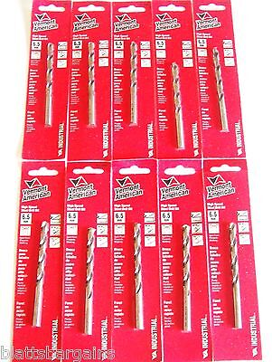 10 Vermont American By Bosch 6.5Mm High Speed Steel Metric Drill Bits 0501065