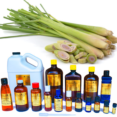 Lemongrass Essential Oil - 100% PURE NATURAL - Sizes 3ml to 1 Gallon - WHOLESALE