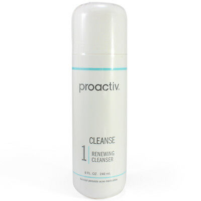 Proactiv Renewing Cleanser 240 mL Step 1 acne proactive 120 day cleanse 5/18 exp