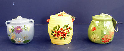 Midwest of Cannon Falls Cookie Jar Ornaments- New- RETIRED- #622841- Set of 3