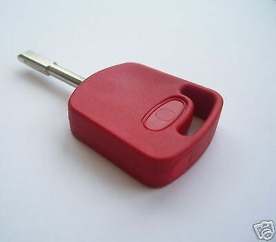 Ford Red Master Compatible Tibbe Transponder Key Complete With Id4C Chip