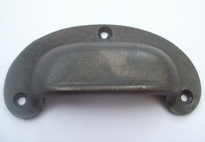 10 X Cast Iron Antique Lipped Cup Pull Handle Drawer Cupboard kitchen door