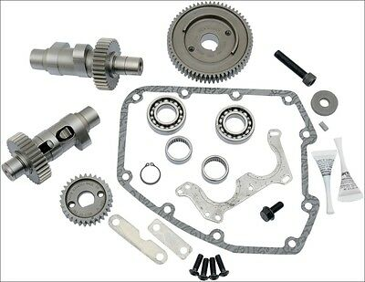 S&S Cycle 585 EZ Easy Start Gear Drive Cams .585 Lift Harley Twin Cam 99-06