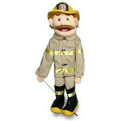 """28"""" Dad/Fireman Full Body in White Puppet GS4301 New By Sunny"""