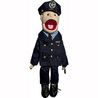 "28"" Mom/Policewoman Puppet GS4408 New By Sunny"