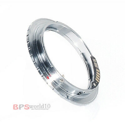 AF Confirm Lens Mount Adapter FOR olympus om lenses to canon eos